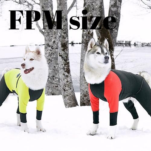 【ALPHAICON】 2020年モデル  ダブルフルドッグガード  FPMサイズ  アルファアイコン  W. FULL DOG GUARD  FPM 犬 冬 外遊び アウトドア 犬服