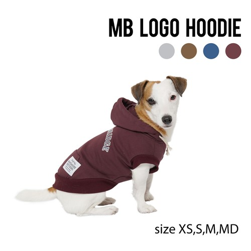 MB LOGO HOODIE(XS,S,M,MD) MBロゴフーディ