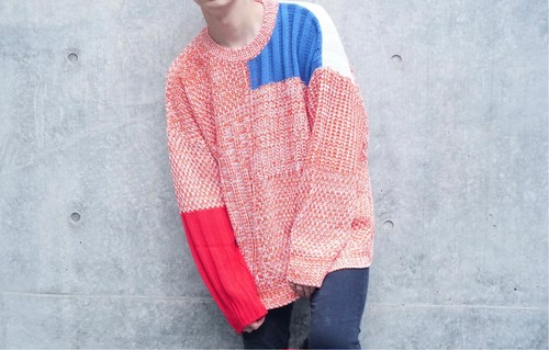 Contrast Design Knit