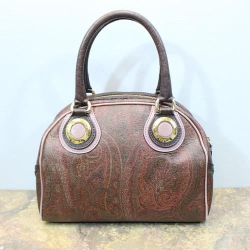 2000000027036 ETRO PAISLEY PATTERNED HAND BAG MADE IN ITALY/エトロペイズリー柄ハンドバッグ
