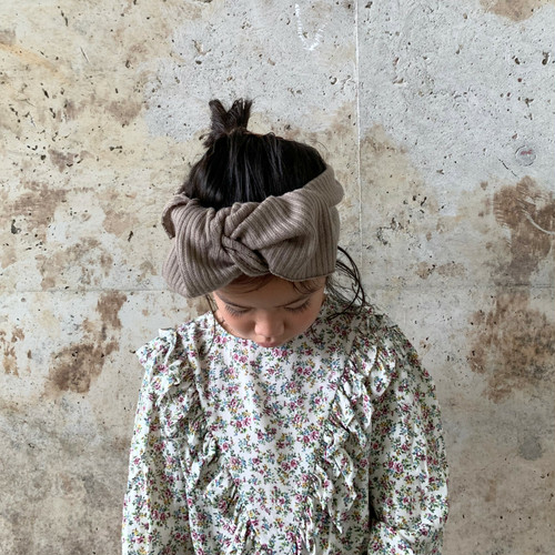 for kids rib knit (antique moca)
