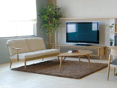 White Wood 2Pソファ(張地Aランク)