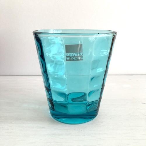 ★イタリア Tognana グラス/ブルー