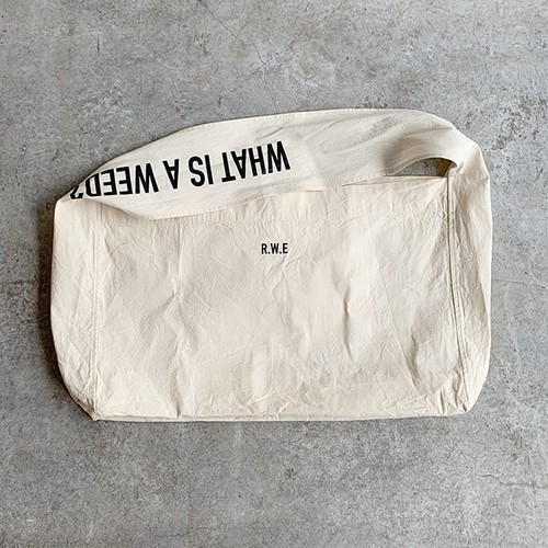 R.W.E Shoulder Bag:KAFA-00401(3,800yen+tax)