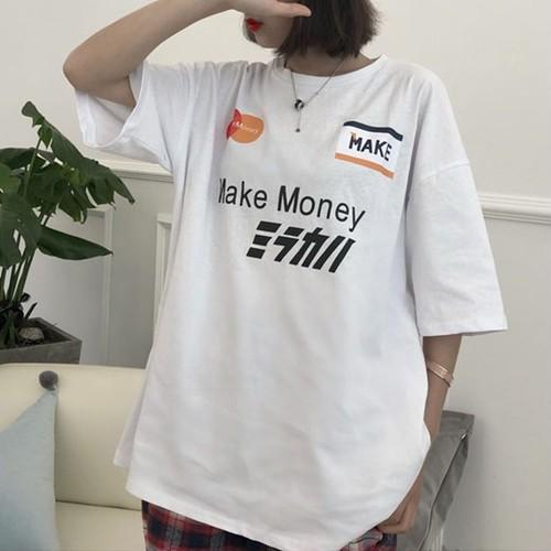 【トップス】アルファベット韓国系Tシャツ20547253