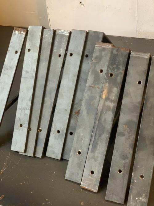 vintage iron shelf bracket