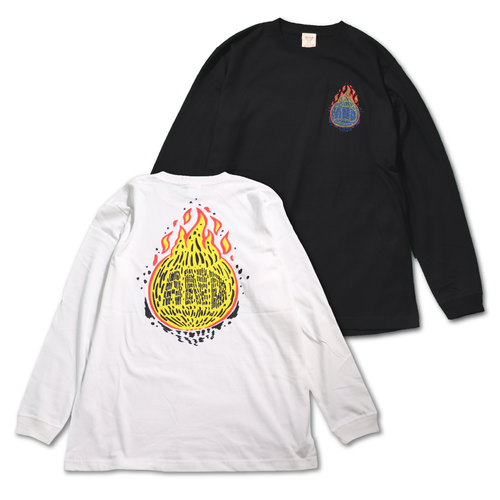FIRE BALL Long Tshirts