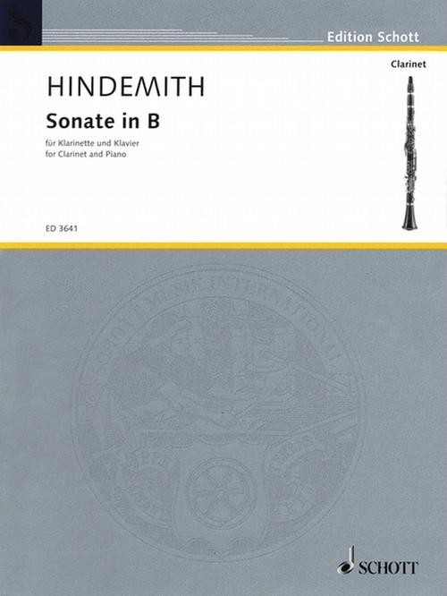 ヒンデミット:ソナタ/クラリネット・ピアノ