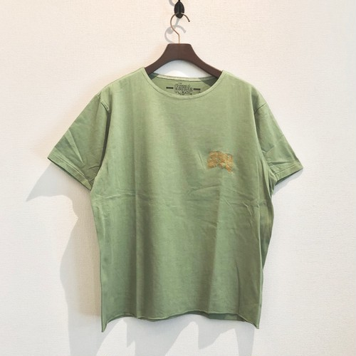 HEAVY DUTY T-S <EMBROIDERY> (EARTH-GREEN) / GERUGA