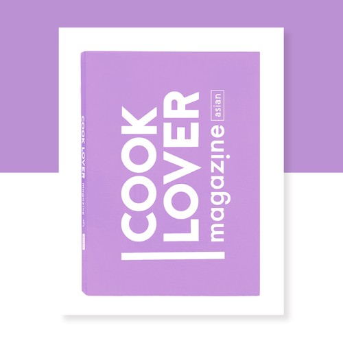 COOK LOVER magazine3~purple~asian
