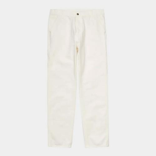 【Carhartt WIP】 RUCK SINGLE KNEE PANT (Wax rinsed) カーハート シングルニーパンツ