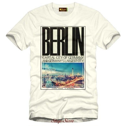 Berlin Art Printing T-Shirts