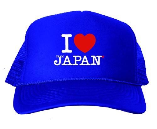 I ♡ TEAM JAPAN®メッシュキャップ
