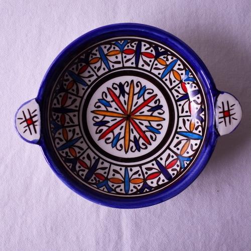 モロッコ フェズの職人のカップ stained glass *セカンドハンド