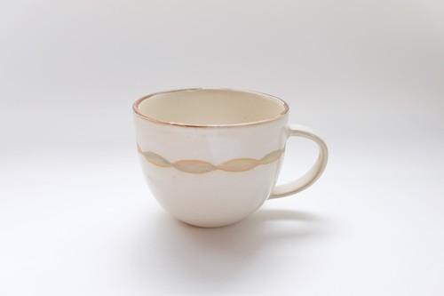 アラン白 コーヒーカップ