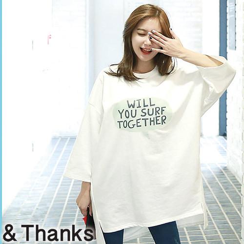 ゆるかわ オーバーサイズプリントTシャツ 1カラー 3サイズ