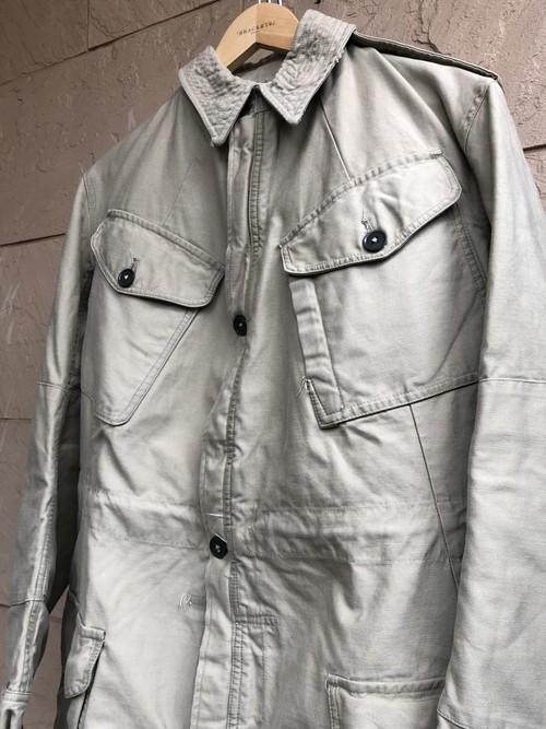 British 1960s pattern jacket bleached