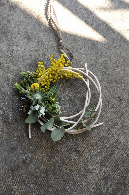 mimosa wreath no.4