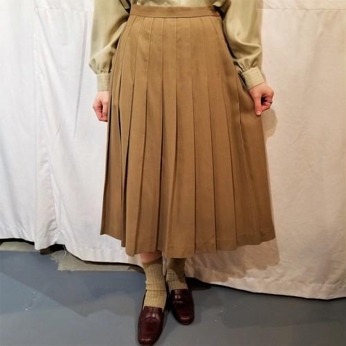 One way pleats skirt [G-742]