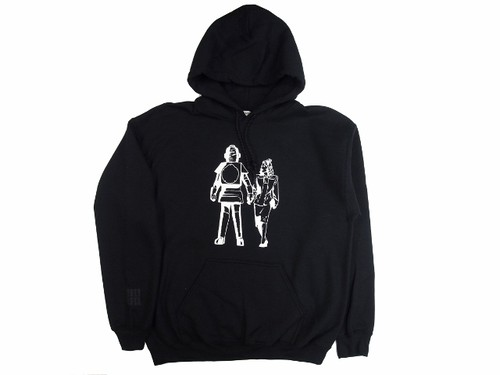 """Robo"" HOODIE  BLACK  18AW-DH-02"