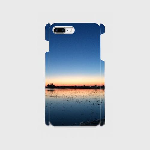 側表面印刷iPhone7&8プラスケース 茜空Ⅲ
