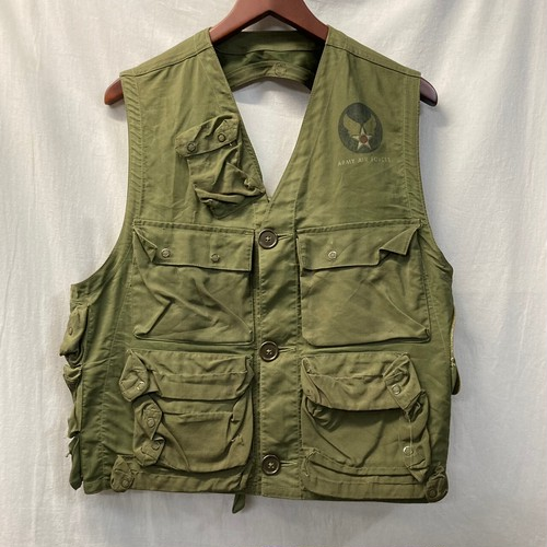"""40's """"ARMY AIR FORCE"""" C-1 Vest"""