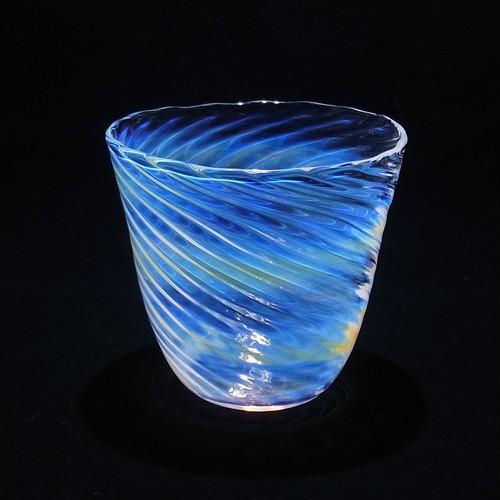 glass 渦タンブラー