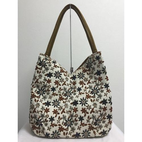【SALE 10%OFF】ベトナムバッグ ビーズ トートバッグ 肩掛け 鞄 ベトナム雑貨