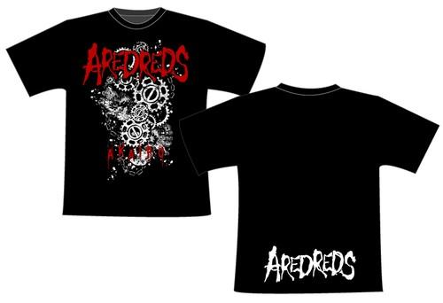 AREDREDS / AKAIRO 2018 TOUR T-Shirts <BLACK>