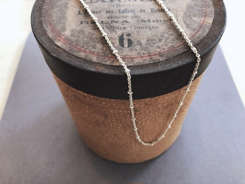 Italy 925 silver chain necklace