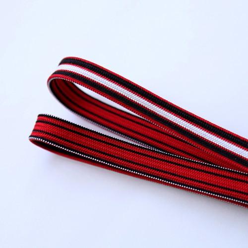 1844 新品◆京くみひも◆赤×黒