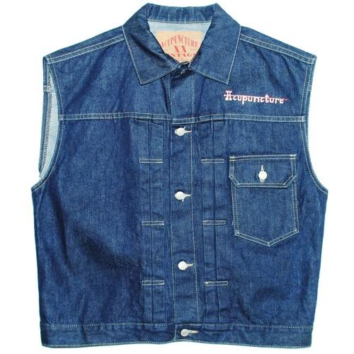 『Acupuncture』 1993 denim vest