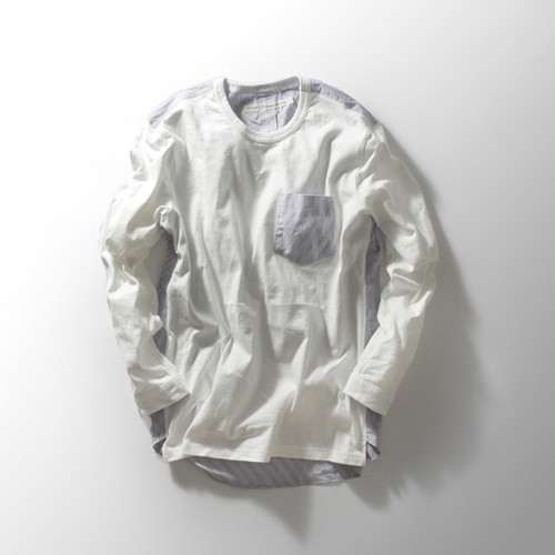 "Curly (カーリー) ""POPOVER SHIRTS TEE"" (高密度天竺シャツ・カットソー)"