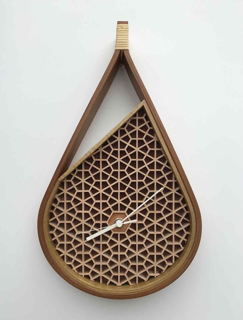 "Wall clock ""Sprout"""