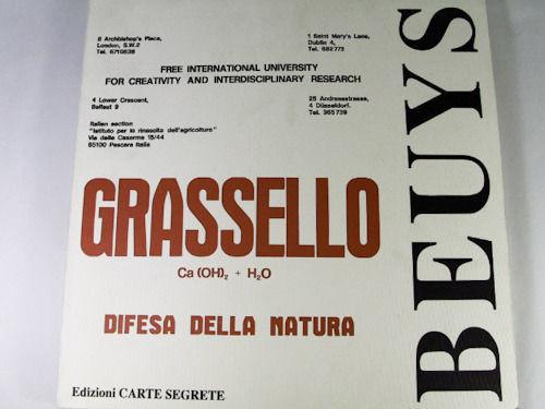 Grassello / Joseph Beuys
