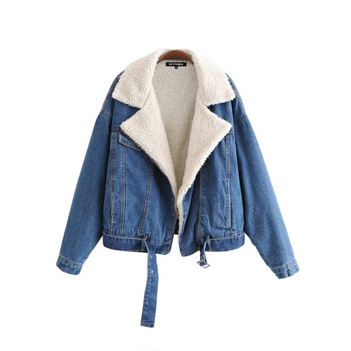 【FlamingoBeach】Boa denim jacket デニムジャケット 60126