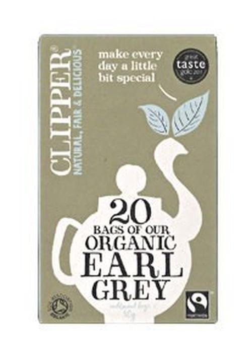 Clipper (クリッパー) オーガニック紅茶 アールグレイ 20袋 (アルミ袋入) 【DNCL0007】