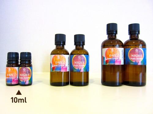 【認知症対策 Daily Aroma:単品10ml】DAY昼用・NIGHT夜用