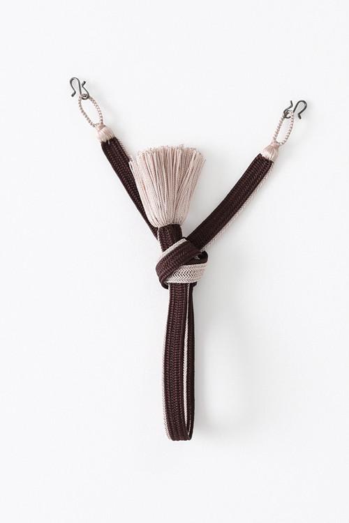 羽織紐 / 高来 / Brown