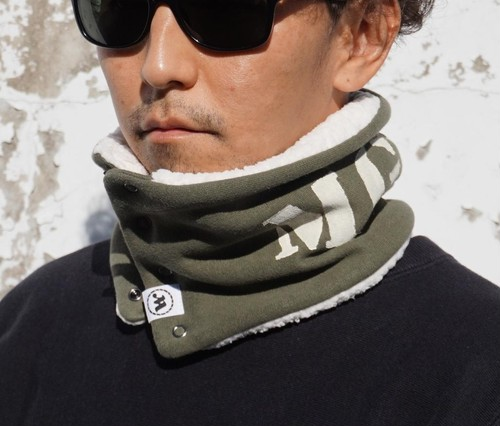 [SHEEP BOA NECK WARMER] Euro Military Sweat size:Free