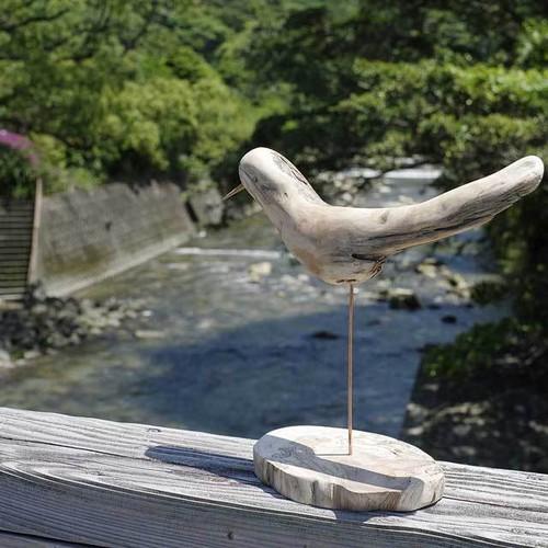 流木の鳥(L saiz) 110