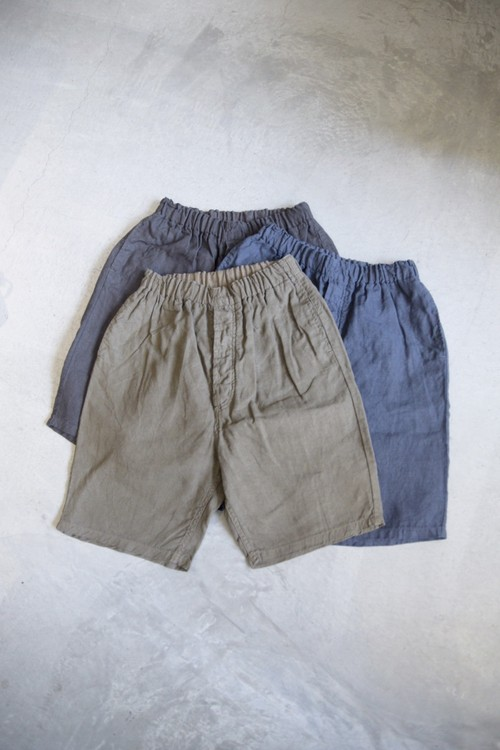 【ordinary fits】TRAVEL SHORTS linen/OM-P134