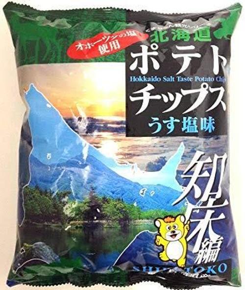 北海道ポテトチップス知床編うす塩味 70g