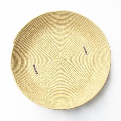 フラニ族の平かご 柄7 / Fulani Basket Pattern 7