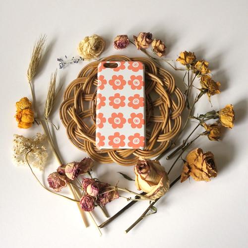anemone ( coral ) スマホケース - L サイズ 【受注生産】