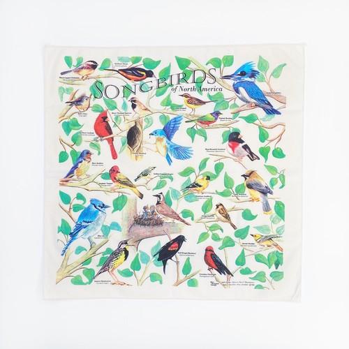 アメリカの野鳥バンダナ