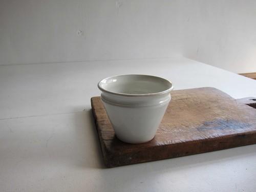 Creil et Montereau 逆円錐形 食品保存用ポットa