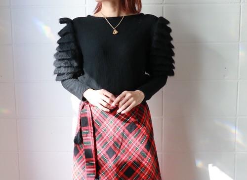 Christian Dior puff sleeve sweater