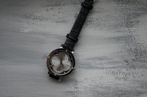 腕時計 モロッカン ブラック×シルバー