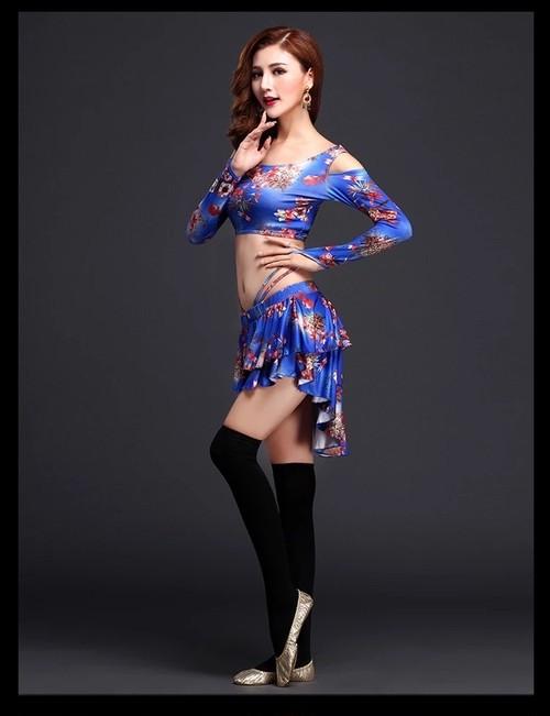 レッスンウェア tops+skirt